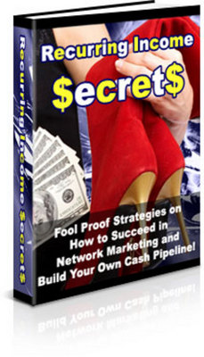 Product picture Recurring Income Secrets - New ebook with PLR