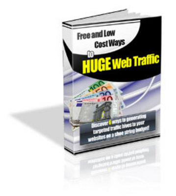 Product picture FREE & Low Cost Ways To HUGE Web Traffic!