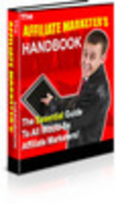 Product picture Affiliate Marketers Handbook